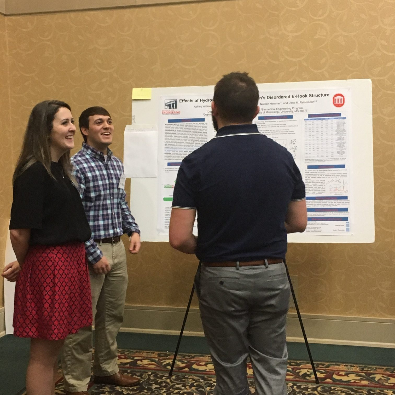 Students present research at poster session